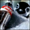 Penguin with Coke