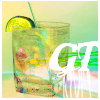 gin and tonic (gold)
