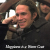 Happiness is a warm coat