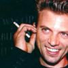 duckbunny: Callum grinning with cigarette
