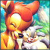 Another favorite duo--Bambi and Thumper