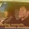 SpN: Sunsets