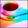 colorful coffee