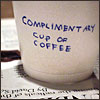 compliment my cup of cofffee