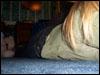 floor, blonde, jenn