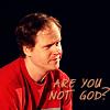 Rach: Joss - are you not God?