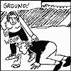 Kathryn of Nigheanan nan Cailleach: Ground! puking crone © flaming crones