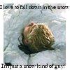 axolotl9: snow