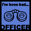 Angelina Ballerina: Been Bad Officer - Naughty