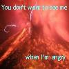 Volcan de Fuego, Angry
