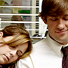 Jim and Pam