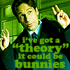 "I've got a ""theory"" - Mulder"