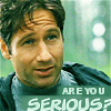 Sarah: Are you serious? - Mulder