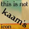 Comm // Not My Icon
