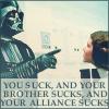 Star Wars you suck