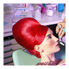(red) beehive