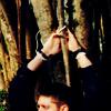 Pooh: SPN - Dean tied up (by meegzi31)