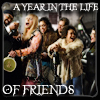 a year in the life of friends