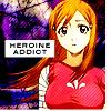 "bleach - orihime - ""heroine addict"""