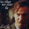 No star be dark