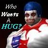 huggy the clown