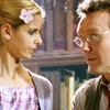 literate and stylish: buffy/giles library cuteness