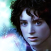 blue Frodo in starlight by seiramnomad