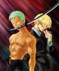 御告: Zoro & Sanji