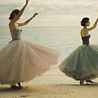 ballerinas by the sea