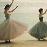 ballerinas by the sea