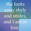 Shonn: she smiles