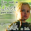 Your *Mom*'s A Cylon!: Not a Quiet Person (by featherjean)