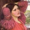 Pensive - lady of Shalott