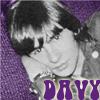 Davy purple pillow