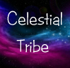 Celestial Tribe and stars background