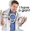Scrubs: Giant ego