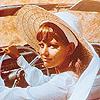 Claudia Cardinale car