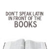 Books - latin