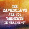 Rhi: Mentat!Ravenclaw: crossover part deux.