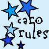 CaroRules: caro blue star