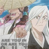 Sharon: Bleach Shunsui and Ukitake In or Out