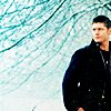 not quite ready for the zombie apocalypse: brothers - dean in snow by coffeefueled