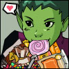 Mark: comic beast boy candy