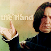 Snape talk to hand