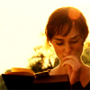 pride & prejudice - lizzie reading