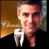 Clooney Cheers
