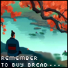 Remember to buy bread--hermonthis