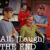 Star Trek Laugh/THE END