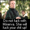 minerva is scary