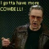 Christopher Walken, More Cowbell!